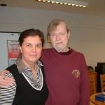 Daniel Whiteside, a Three in One Conceps módszerének egyik kidolgozójával, a Face Language tréningen